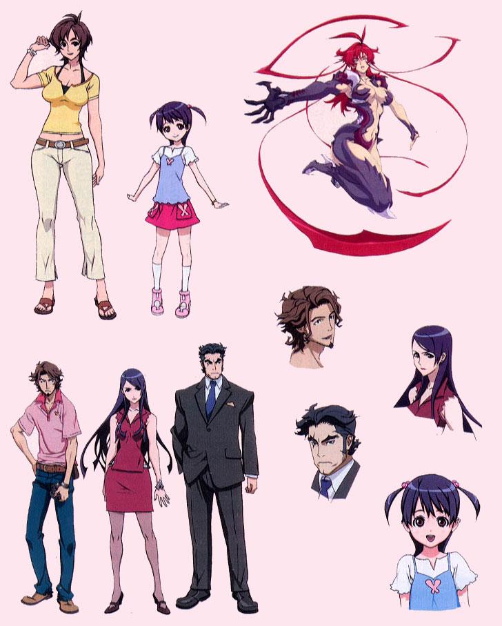 animation anime de witchblade confirm233 news catsuka