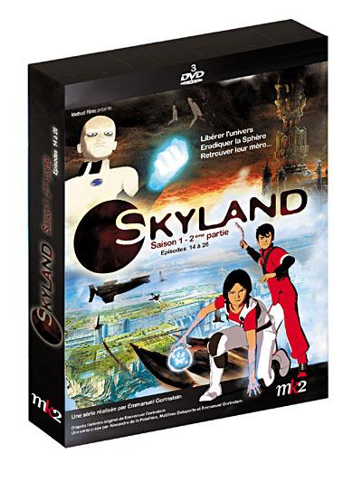 Skyland Saison 1 Volume 2 Ep 14 23 DvDRip Xvid Fr preview 0