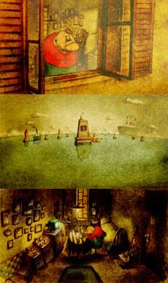 la maison en petits cubes kunio kato