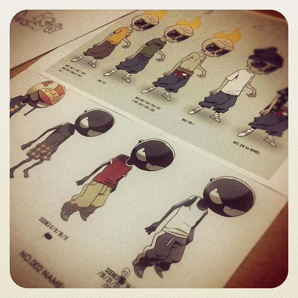mutafukaz le film par le studio 4 c d part en prod news catsuka. Black Bedroom Furniture Sets. Home Design Ideas