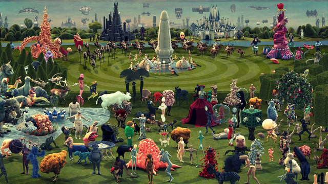 Catsuka Player Paradise A Contemporary Interpretation Of The Garden Of Earthly Delights